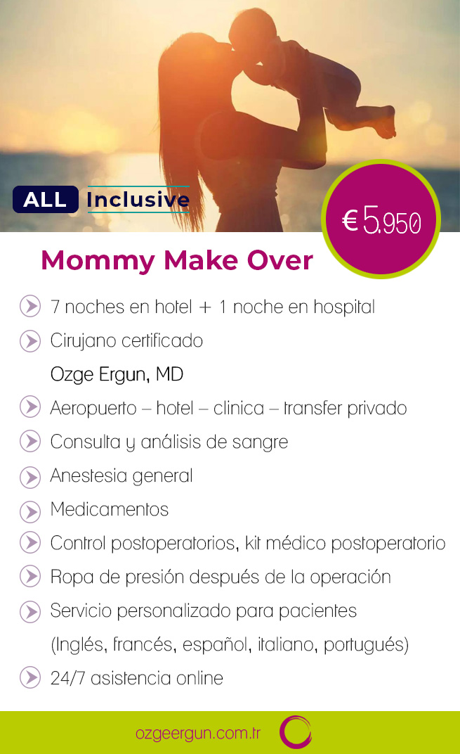 Mommy Make Over Todo inclusivo